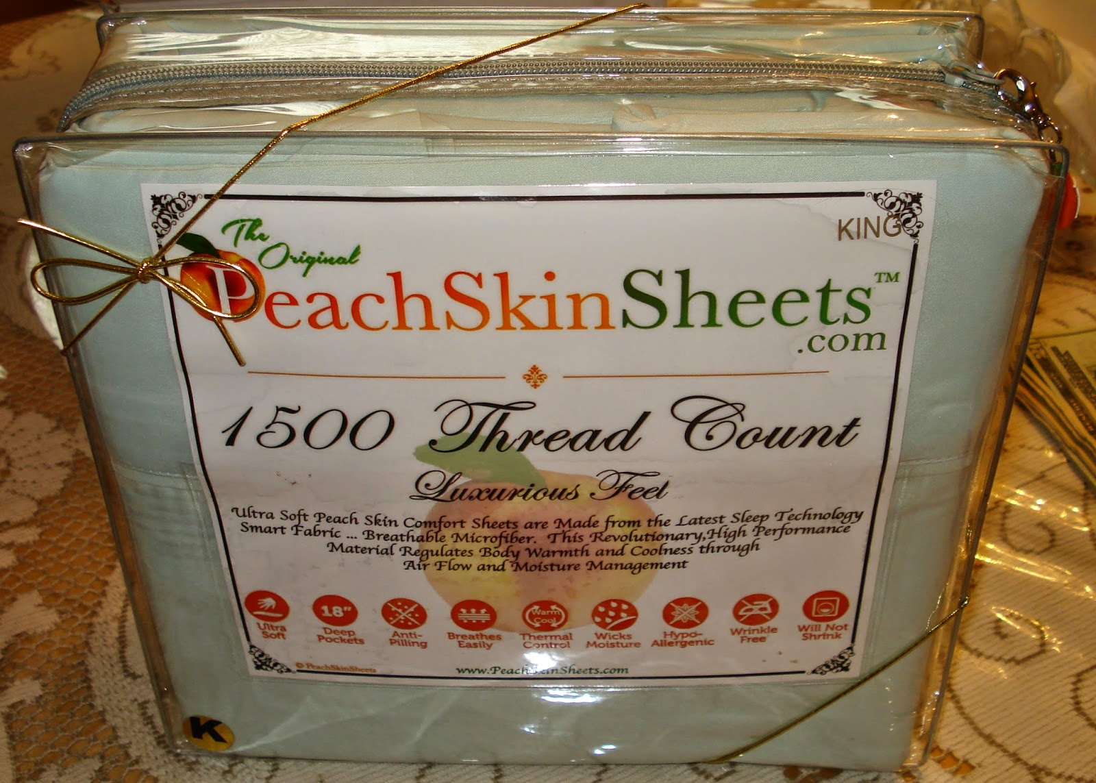 Enter to win the PeachSkinSheets Giveaway. Ends 8/26.