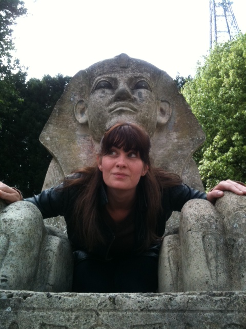 Sphinx statues in London