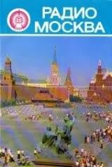 Folleto publicitario de Radio Moscú