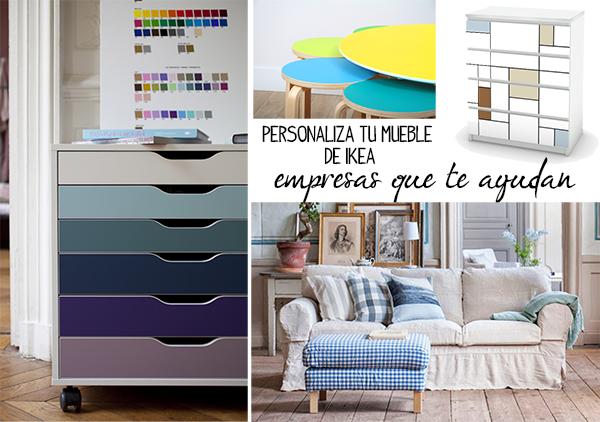Ideas para renovar tus muebles de ikea decoraci n for Quiero tus muebles