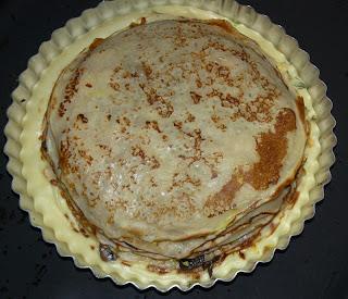 Пирог блинный закусочный