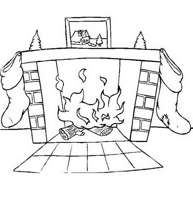 Casa en llamas para colorear - Imagui