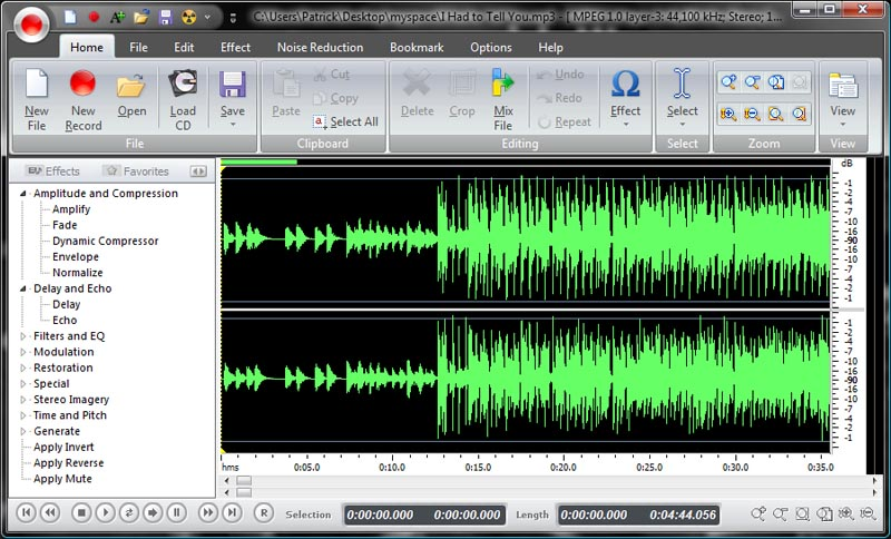 Music editor free program for editing audio files disguise tangible