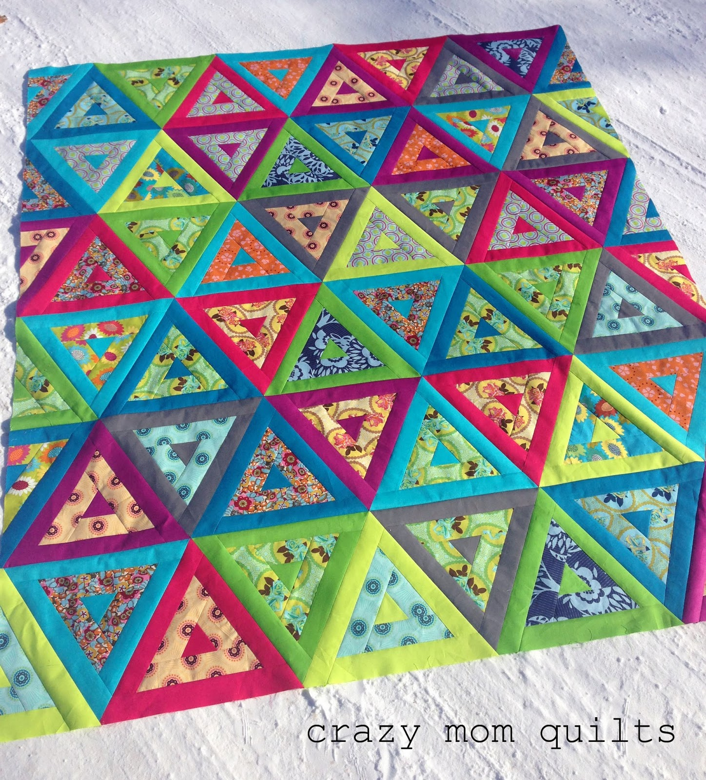 crazy mom quilts: nap like an Egyptian quilt top : crazy quilt mom - Adamdwight.com