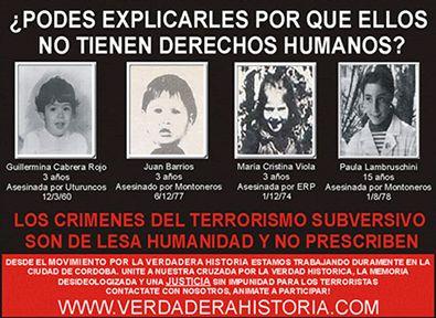 Resultado de imagen para Lesa Humanidad, en Argentina hay de sobra