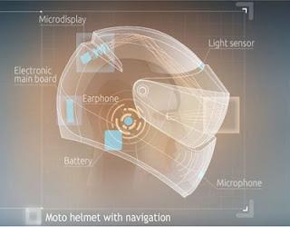 Inilah Helm Pintar yang Jadi Pesaing Kacamata Google dari daniel maulana