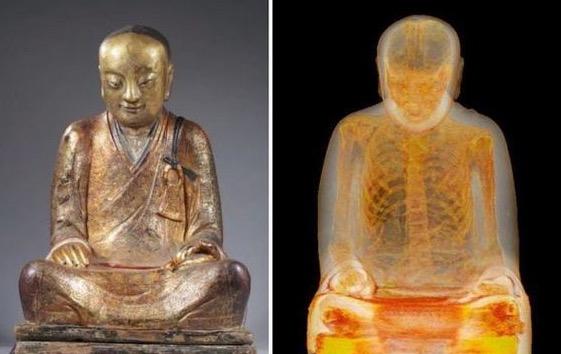 Sesuatu yang Sangat Mengejutkan Tersembunyi Dalam Patung Buddha Ini