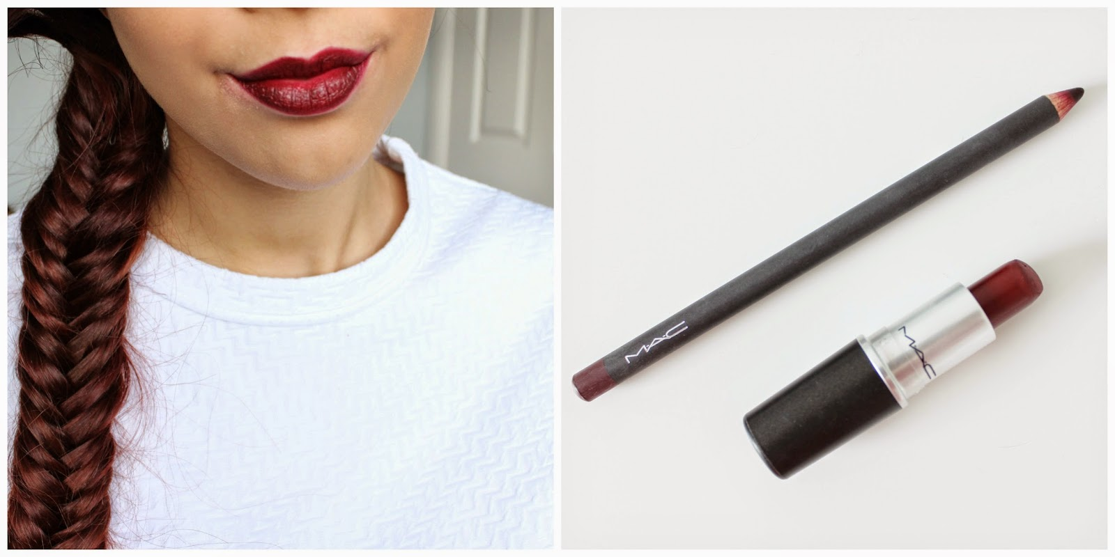 mac diva and vino lip liner