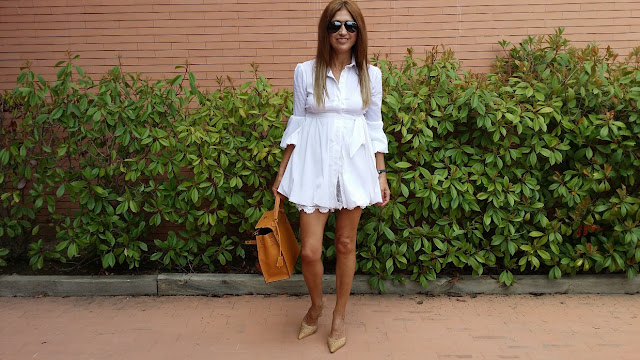 Carmen Hummer, Style, Fashion Blogger, Look con Lace Short