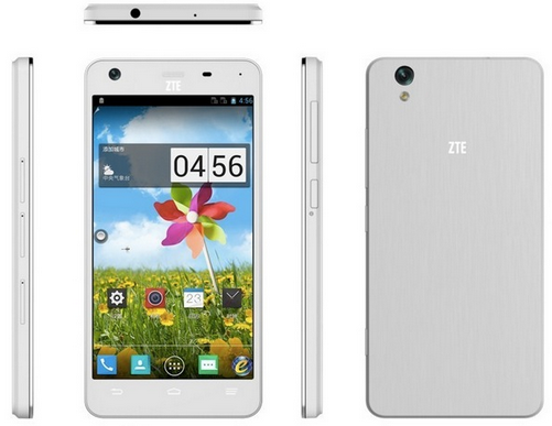ZTE New Eight-Core Powered Smartphone from China