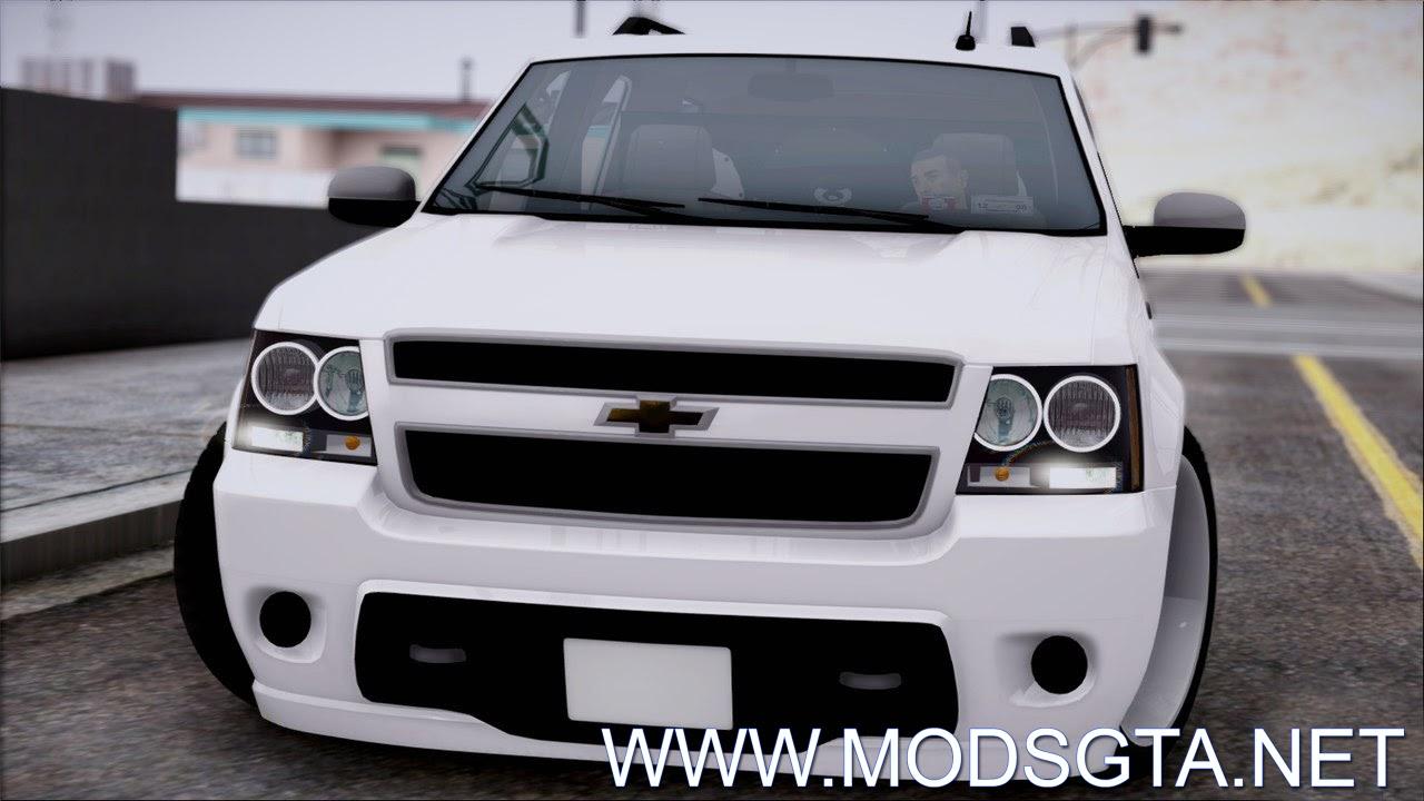 GTA SA - Chevrolet Suburban Tuning