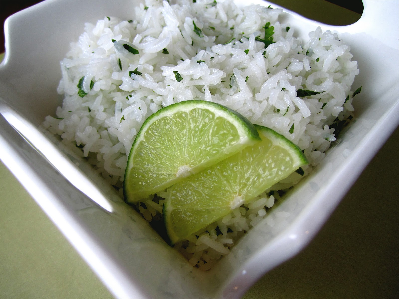 Stephanie Cooks: Chipotle's Cilantro Lime Rice