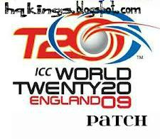 T20 World Cup England 2009 Patch
