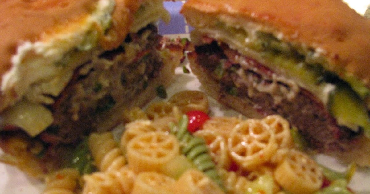 ... Mama's Home Kitchen: Jalapeno Blue Cheese Burgers with Bacon & Swiss