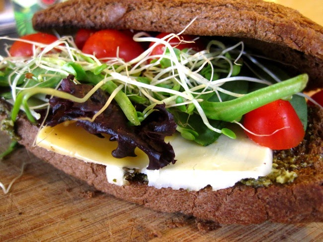 Christyna in the Kitchen: The BEST vegetarian sandwich...ever!