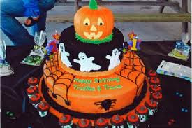 Delicious Halloween Birthday Cakes