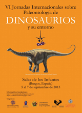 VI Jornadas sobre Paleontologa de Dinosaurios y su Entorno.