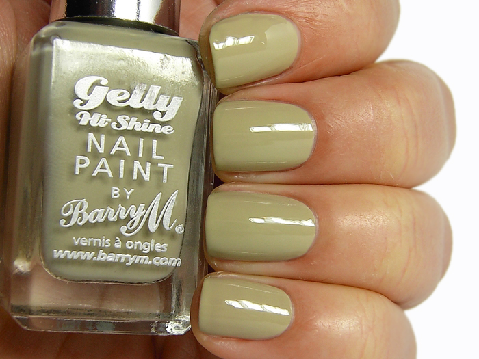 Barry M Gelly Nail Paint - Olive