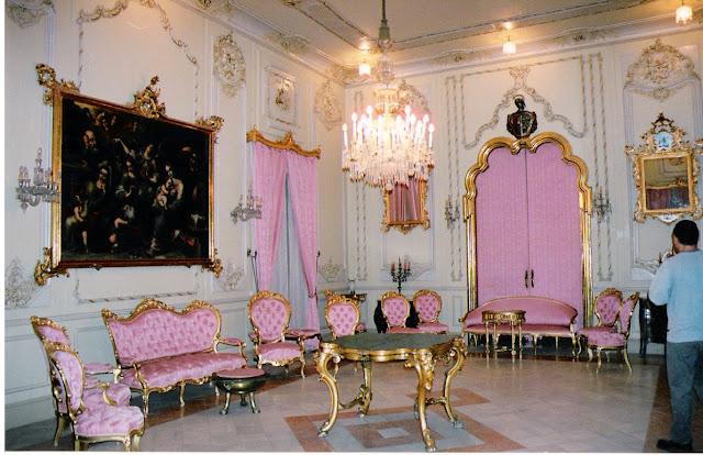"""El """"Salón Rosa"""" del Palacio de Rubalcava en Orihuela"""