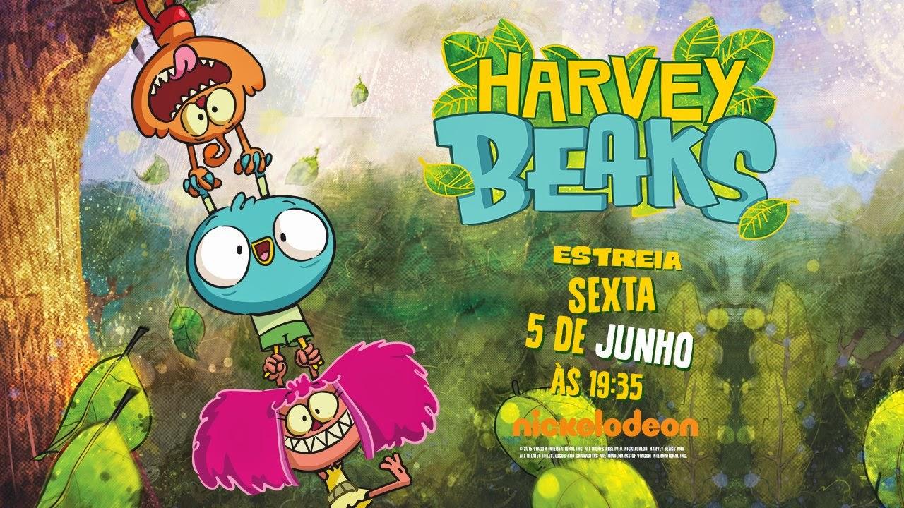 Nickelodeon portugal to premiere harvey beaks on friday 5th june 2015