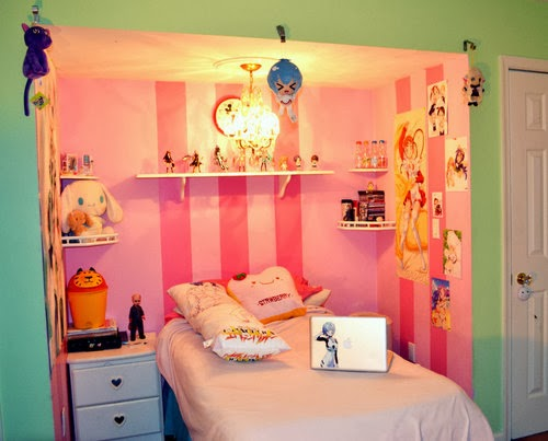 Cuarto Kawaii decoración