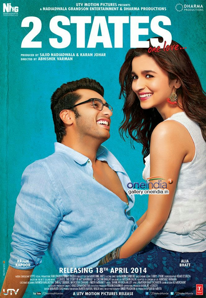 2 States 2014 Mp3 Songs Download Free SongsPk