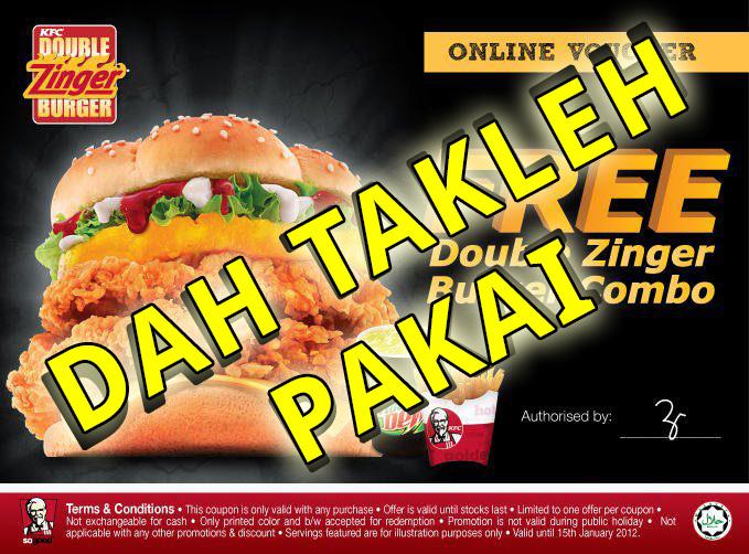 KFC Online Voucher