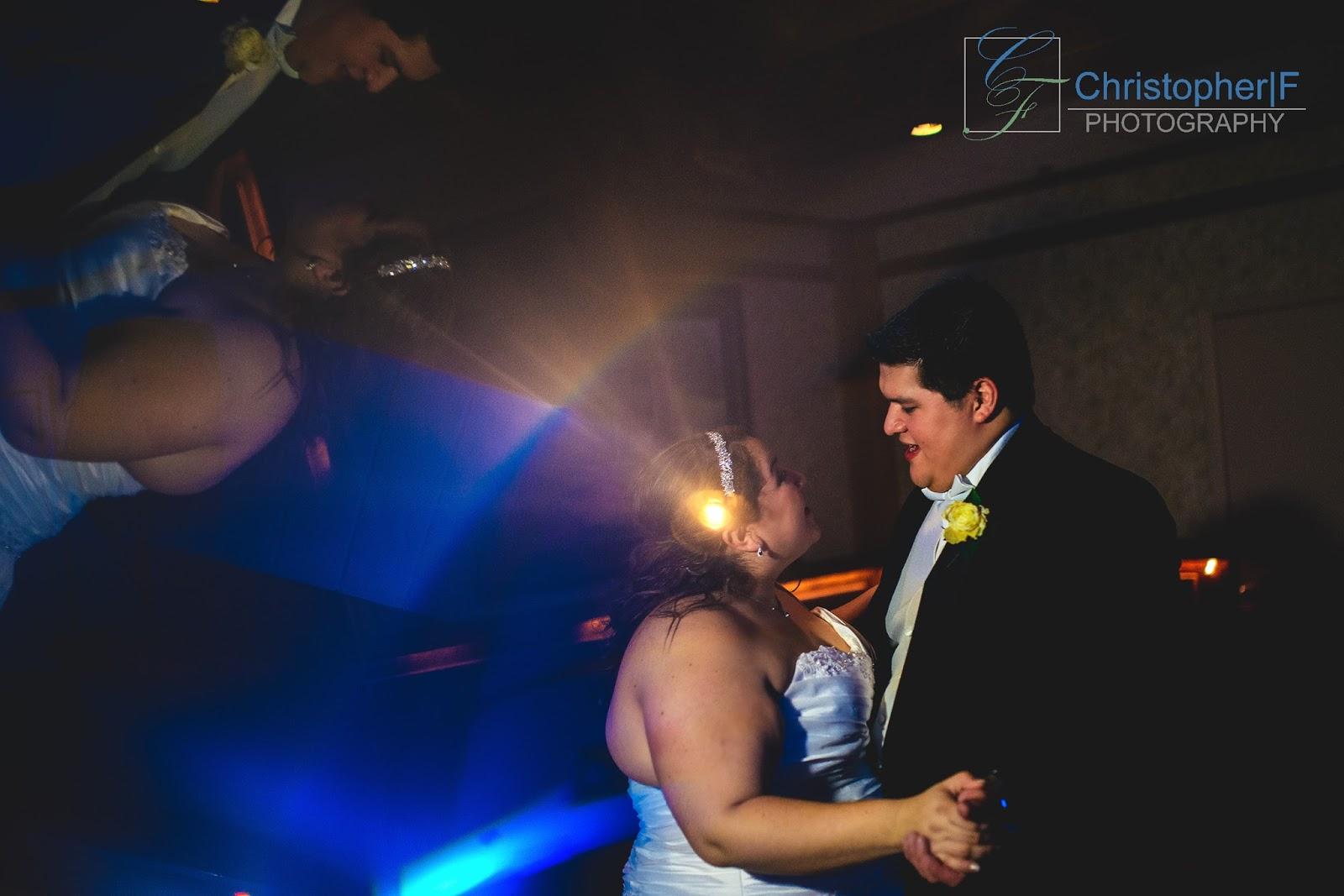 Prisming Wedding Portrait First Dance