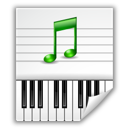 musica en archivos midi: