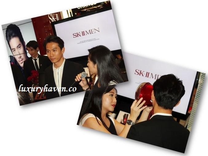 skii magic ring test mediacorp celebrities qi yu wu