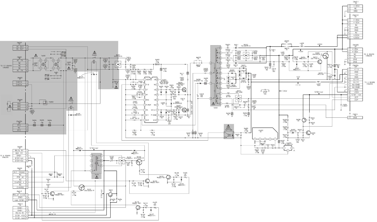 Sony Trinitron Kv28ls60 - Kv32ls60 - Power