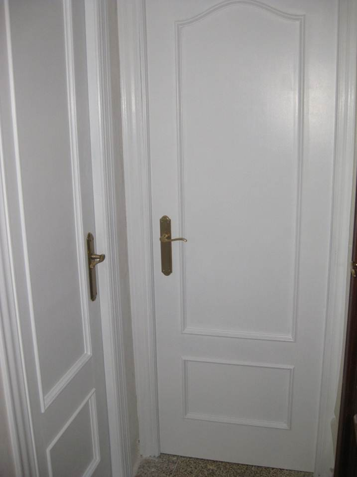 Kp decor studio ayd puertas lacadas en blanco baa - Precios de puertas lacadas en blanco ...