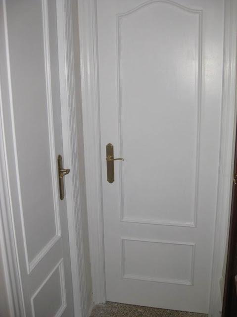 Kp decor studio ayd puertas lacadas en blanco baa white doors - Manillas puertas antiguas ...