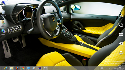 Lamborghini Aventador LP720-4 50° Anniversario Theme For Windows 7 And 8