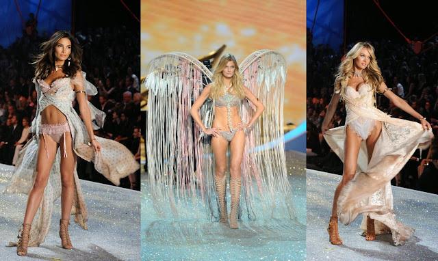 Victoria's Secret, models, angels, fashion show