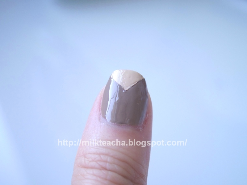 Fall Nail Design: The Earth thumb