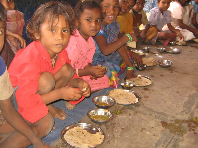 Mid-day Meal in Rajasthan