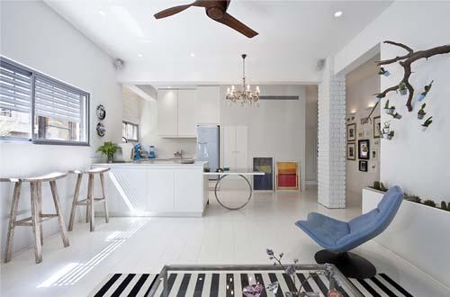 Ristrutturazione in stile moderno a tel aviv arredamento - Stile casa moderna ...