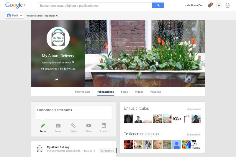 Cómo crear una página en Google Plus para tu blog