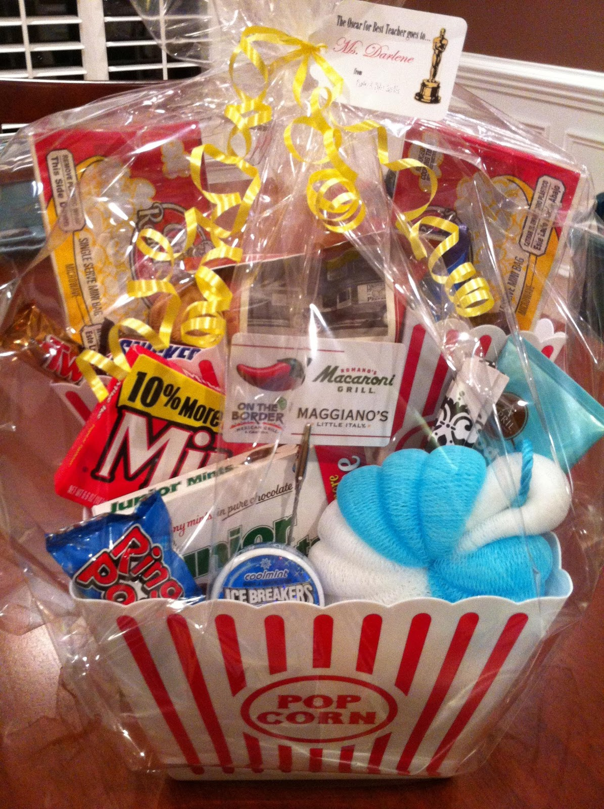 The clueless chick teacher appreciation gift baskets teacher appreciation gift baskets negle Image collections