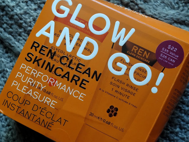 REN Glow and Go! Travel Kit