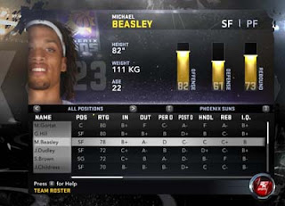 NBA 2K12 Roster Changes: Michael Beasley - From Minnesota Timberwolves to Phoenix Suns