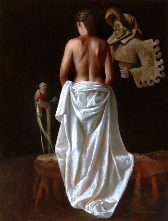 Ricardo Fernández Ortega, 1971 | pintor surrealista mexicana