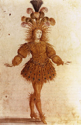 Costume for Apollon (danced by Louis XIV) in the Ballet de la Nuit (1653)