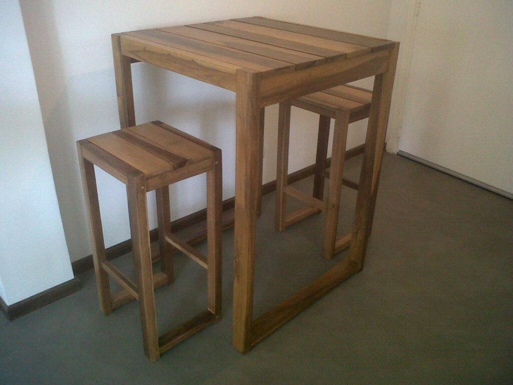 Juanamadera for Banquitas de madera para jardin