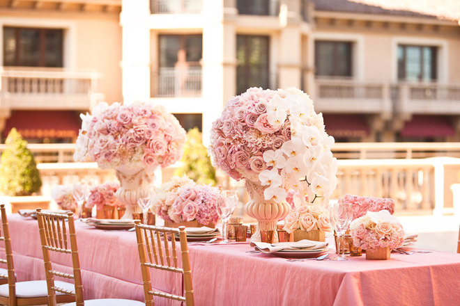 Wedding Reception Table Ideas