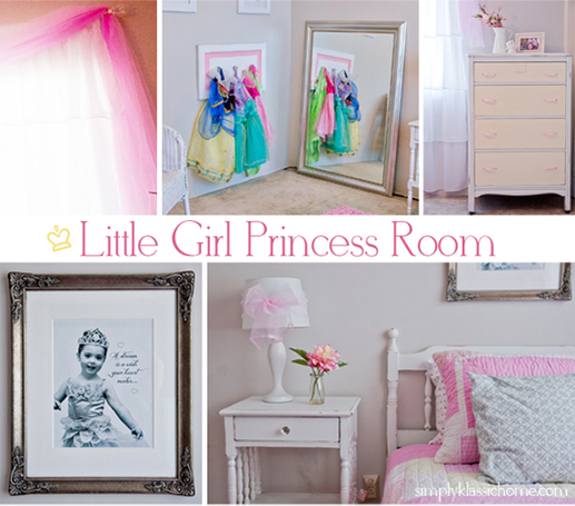 Captivating Last Week My Little Girl Told Me She Wanted A Pink Princess Room, Because  She Doesnu0027t Like Blue. When I Created Rileyu0027s First Room Design, It Was  Pretty ...