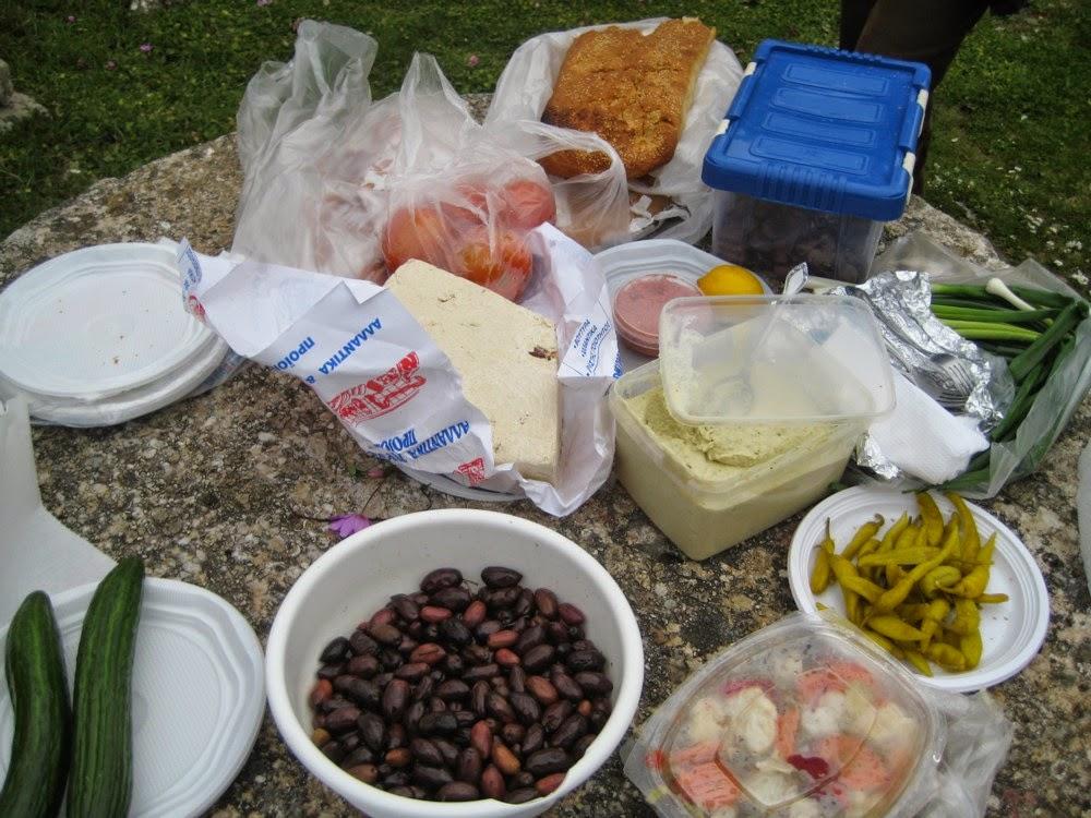 Κούλουμα - Σαρακοστιανό τραπέζι