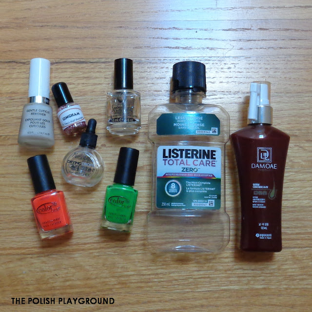 November 2015 Product Empties