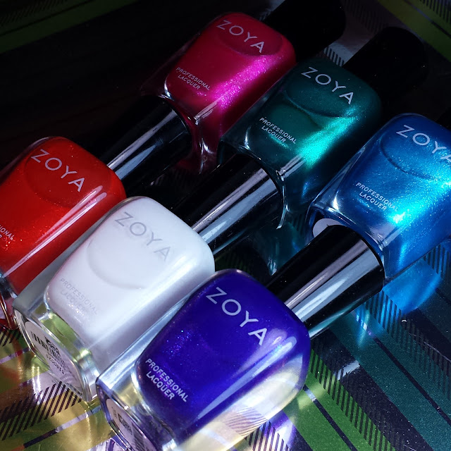 Zoya Paradise Sun Swatches & Review